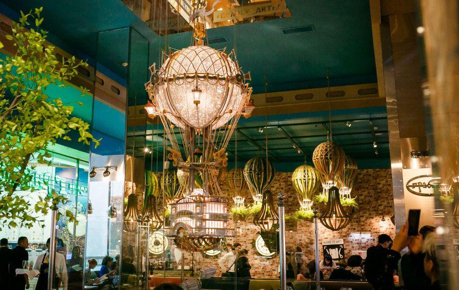 Концепция ресторана в ЦДМ «Полеты во сне и наяву»