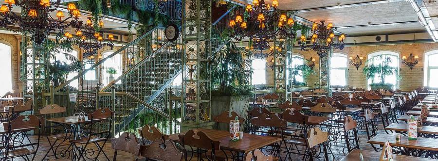 Grabli restaurant on Pyatnitskaya