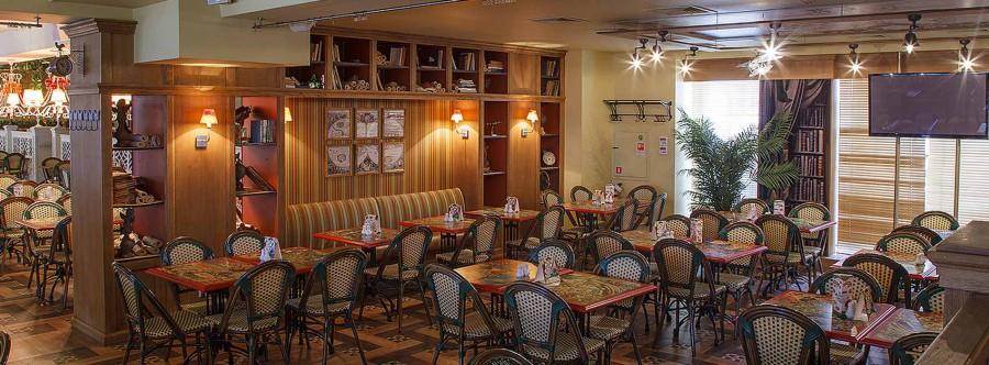 Grabli restaurant on Pushkinskaya